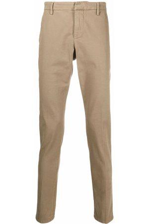 DONDUP Men Chinos - Straight-leg chino trousers - Neutrals