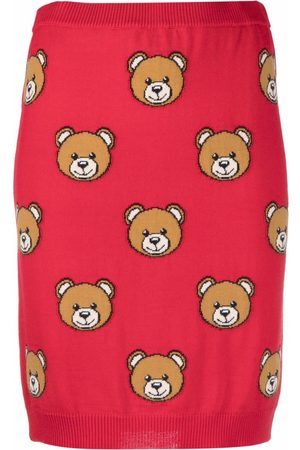 Moschino Toy Bear print skirt