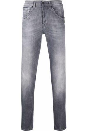 Dondup Light-wash organic cotton jeans - Grey