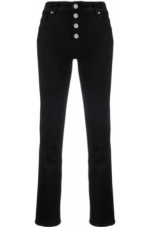 7 for all Mankind High-waisted straight-leg jeans