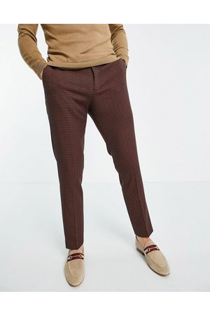 River Island Suit pants in grid check
