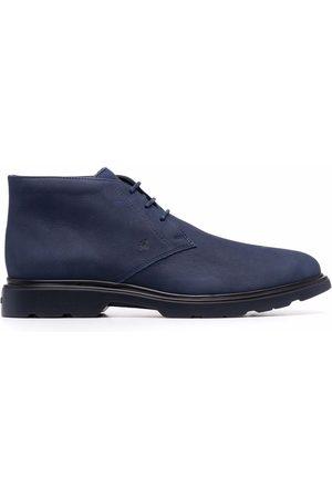 Hogan Nubuck leather desert boots