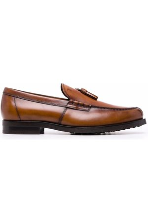 Tod's Tassel-detail leather loafers