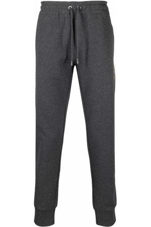 Dolce & Gabbana Drawstring-waist cotton track trousers - Grey