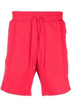Coach Men Sports Shorts - Logo trim jersey shorts