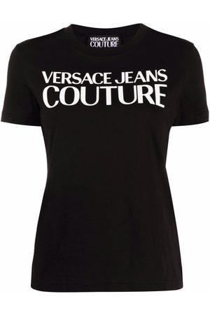 VERSACE Logo-print short-sleeved T-shirt
