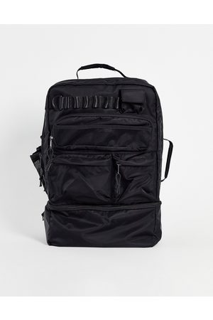 ASOS Backpack in nylon with multi pockets and laptop compartment 30 Liters