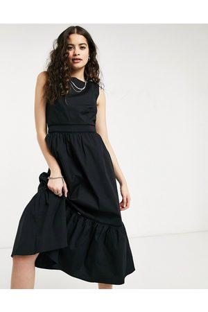 Oasis Women Midi Dresses - Structured midi dress in