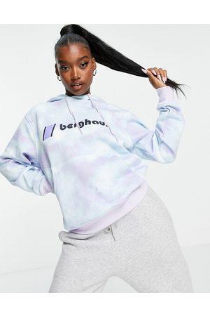 Berghaus Heritage logo hoodie in tie dye