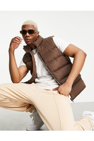 ASOS Puffer quilted vest in