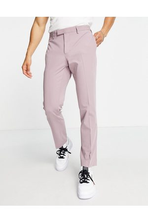 River Island Skinny suit pants in lilac