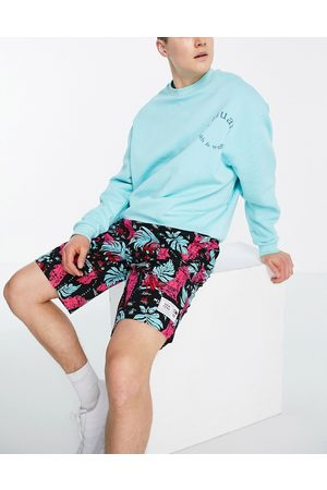 Tommy Jeans Miami print basketball shorts in