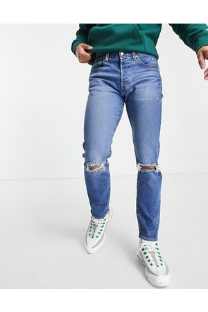 Levi's 511 slim tapered ironwood jeans-Blues