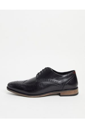 River Island Leather brogue in