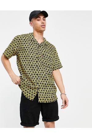 Levi's Cubano short sleeve star fruit tie dye print shirt in super