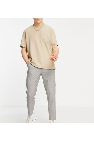 New Look Tapered smart pants in check