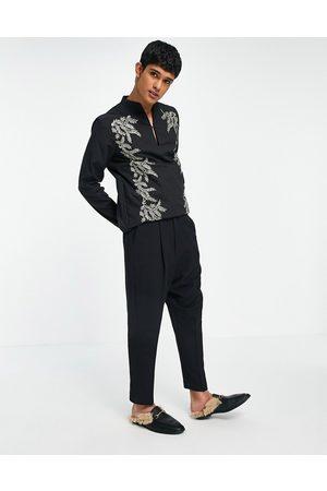 ASOS Drop crotch skinny smart pants in