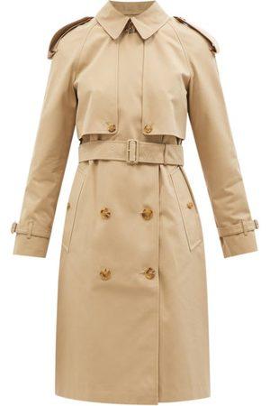 Burberry Wacton Cotton-gabardine Trench Coat - Womens