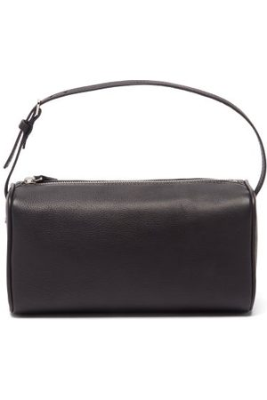 The Row 90s Small Grained-leather Shoulder Bag - Womens
