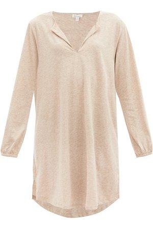 SKIN Ohablis Organic Pima-cotton Jersey Nightdress - Womens