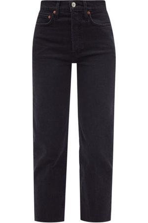 RE/DONE 70s High-rise Straight-leg Jeans - Womens