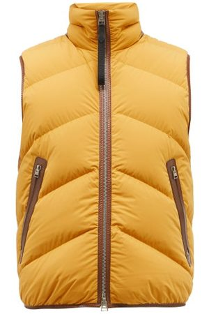Tom Ford Stretch-shell Quilted-down Gilet - Mens