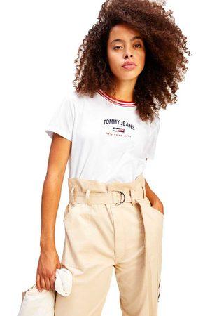 Tommy Jeans Regular Timeless Script Short Sleeve T-shirt L