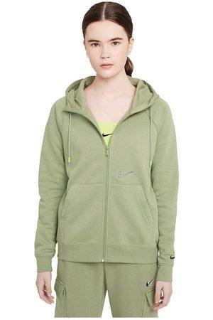 Nike Sportswear Essentials Print Full Zip Sweatshirt L Oil