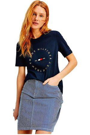 Tommy Hilfiger Regular Circle Short Sleeve T-shirt M Desert Sky