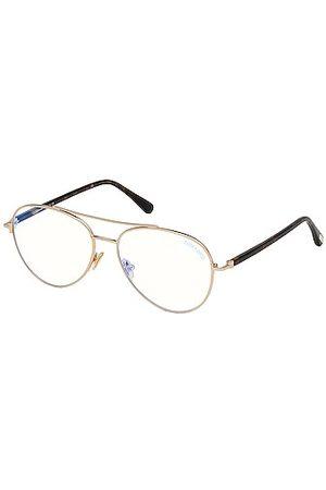 Tom Ford Aviator Optical Eyeglasses in Rose