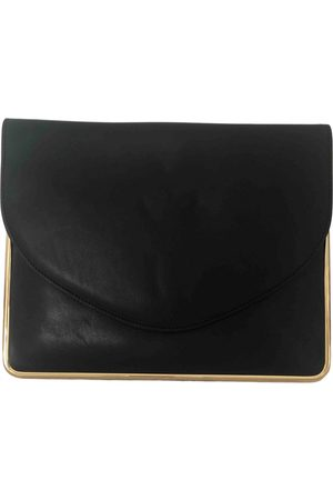 Carven Leather Clutch Bags