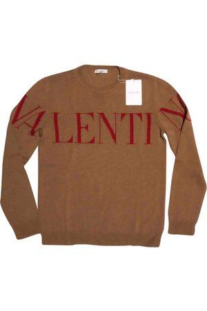 VALENTINO GARAVANI Camel Cashmere Knitwear & Sweatshirts