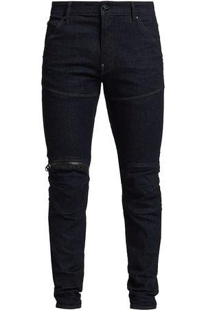 G-Star RAW Men Skinny - Men's 3D Zip Knee Skinny Jeans - Navy - Size 38