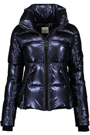 SAM. Women's Freestyle Down Puffer Jacket - Moonlight - Size Medium