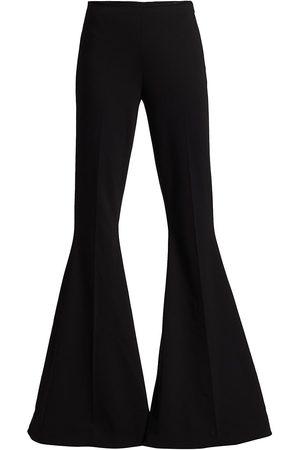 Stella McCartney Women's Mona Wool Blend Flare Trousers - - Size 14