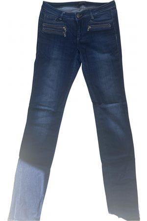 Mos Mosh Navy Cotton - elasthane Jeans