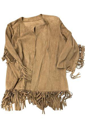 FRANCESCA ROMANA Suede Leather Jackets