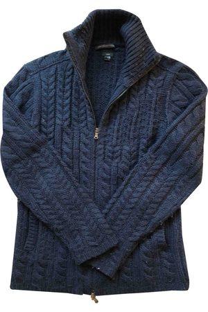 John Varvatos Navy Wool Knitwear & Sweatshirts