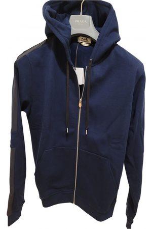 Hermès Navy Cotton Knitwear & Sweatshirts