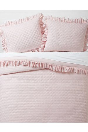 American Eagle Outfitters Dormify Ruffled Edge Queen Comforter Sham Set Women's One Size
