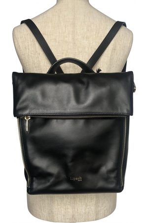 Lipault Leather backpack