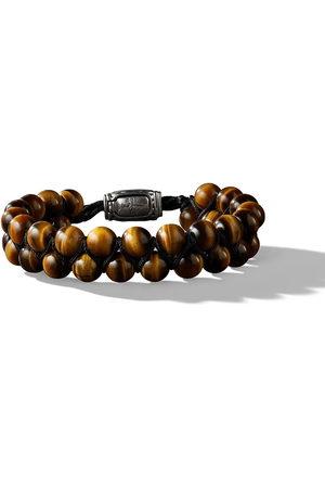David Yurman Men Bracelets - 8mm Spiritual Beads two-row tiger eye bracelet