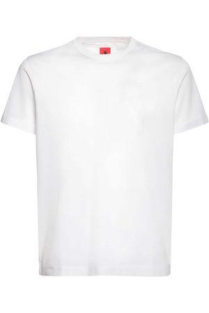 FERRARI STORE Logo Print Cotton T-shirt