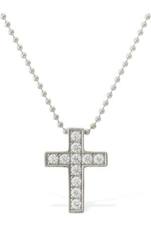 Dsquared2 Men Necklaces - Jesus Crystal Chain Necklace