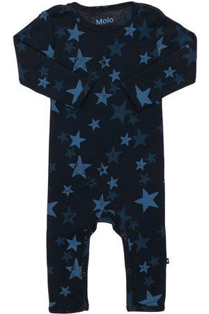 Molo Stars Print Organic Cotton Romper