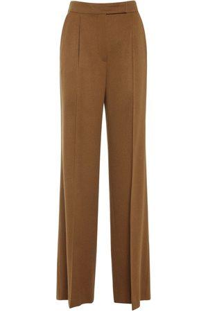 MAX MARA Camel Wide Leg Pants