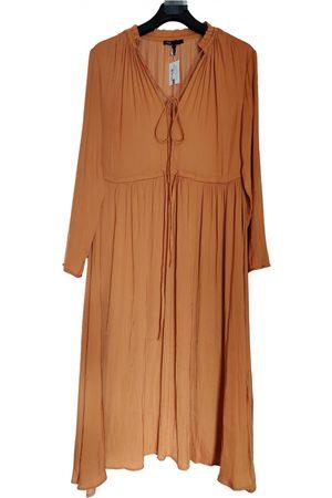 Maje Camel Polyester Dresses