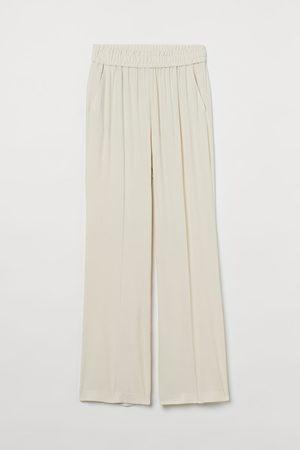 H & M Wide-leg Pull-on Pants