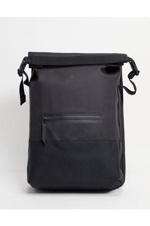 Rains Men Laptop Bags - 1372 buckle rolltop backpack in