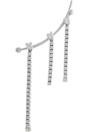 DELFINA DELETTREZ 1987 diamond cuff earrings